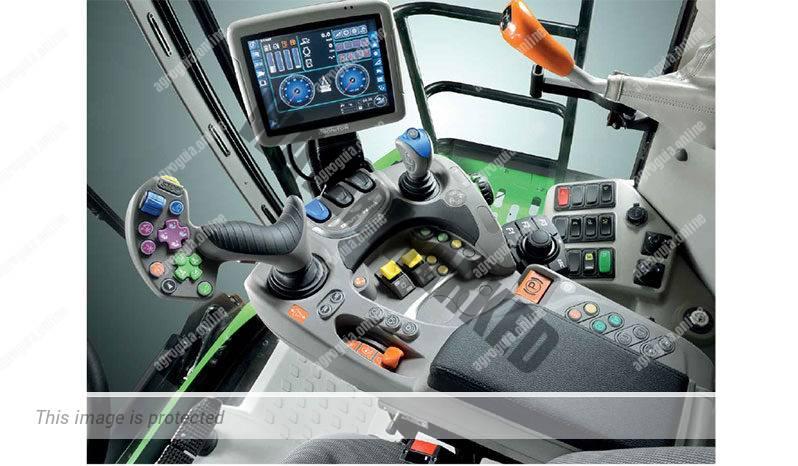 Deutz Fahr C 9306 TS. Serie C 9300 lleno