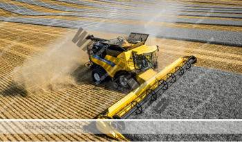 New Holland CR 10.90. Serie CR Revelation lleno