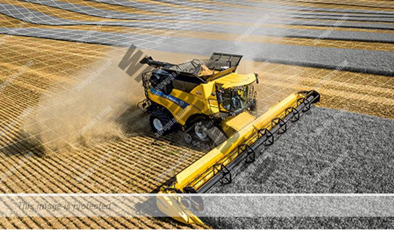 New Holland CR 8.80. Serie CR Revelation lleno