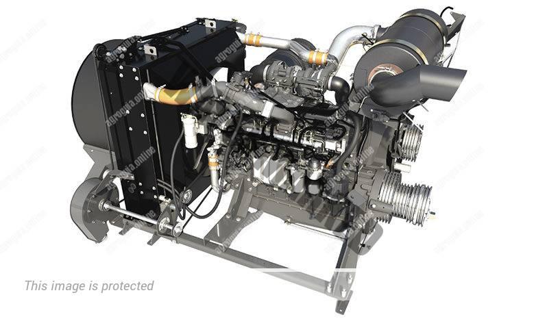 Laverda M 400. Serie M 4 lleno