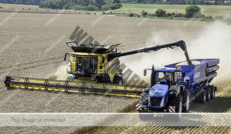 New Holland CR 8.90. Serie CR Revelation lleno