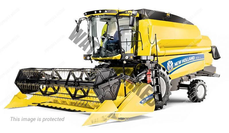 New Holland TC 5.90. Serie TC lleno