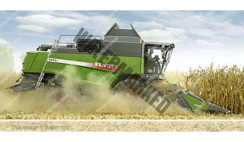 Fendt 6275 L. Serie L lleno