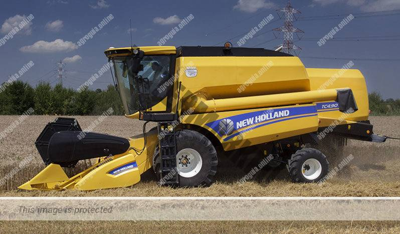 New Holland TC 5.80. Serie TC lleno