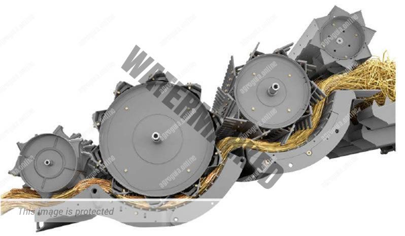Claas Lexion 5500. Serie Lexion 5000 lleno