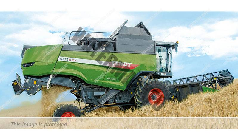 Fendt 5275 C. Serie C lleno