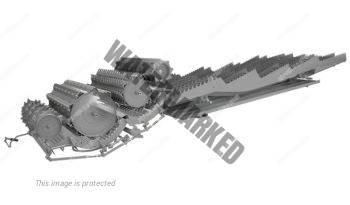 Claas Lexion 8800. Serie Lexion 8000 lleno