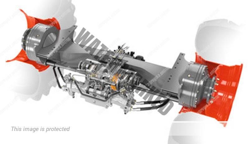 Claas Lexion 6600. Serie Lexion 6000 lleno