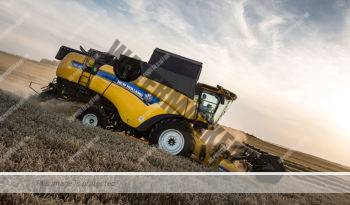 New Holland CX 7.90. Serie CX 7 – CX 8 lleno